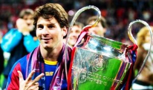 Fotos de celebraciones de Messi