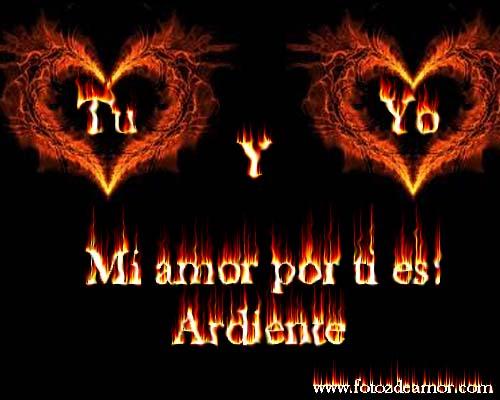 mi amor es ardiente