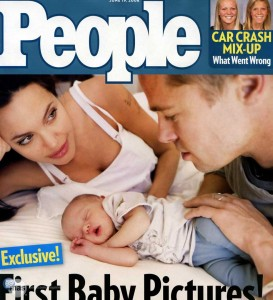 imágenes de bebés famosos