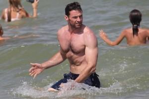 Imágenes de famosos en la playa