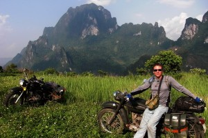 Mi primer viaje en moto