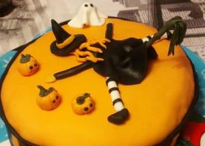 imágenes de un pastel decorado para celebrar halloween