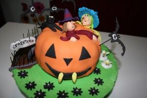 imágenes de pasteles para una fiesta temática halloween