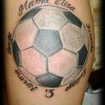 Tatuajes de una pelota