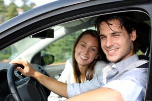 Fotos de enamorados en sus autos