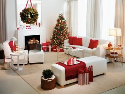 decoracion navideña apartamento