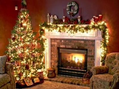 decoracion navideña de hogar