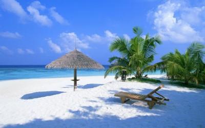 playa en el caribe