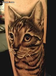 tatuaje realista animal
