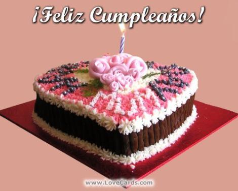 Felicitaciones de cumpleaños a una tía
