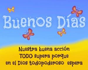 Buenos dias feliz dia tarjetas facebook