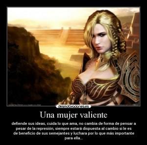 Una mujer valiente