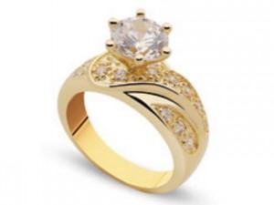 anillo de compromiso para juego del de boda