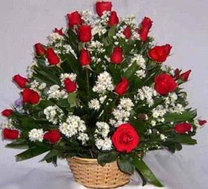 arreglo floral para novia