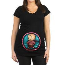 camiseta divertida para embarazada 3