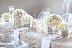 de coracion de boda con rosas naturales