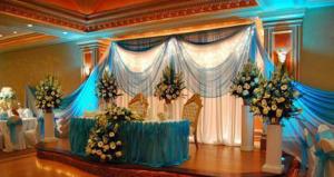 decoracion color turquesa para boda