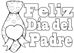 dibujo para el dia del padre 2