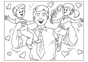 dibujo para el dia del padre 3