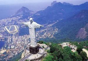 el cristo redentor,rio de janeiro,brasil