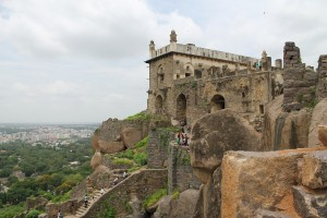 fortaleza golconda india