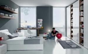 habitacion para hombre sencilla