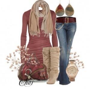 outfits para dama de invierno