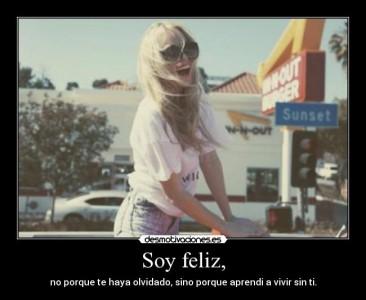 Soy feliz