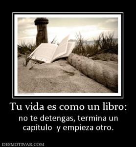 Tu vida es como un libro