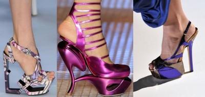 Bonitos  estilos de zapatos para mujer