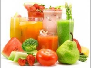 frutas y verduras,jugos naturales para curar la colitis