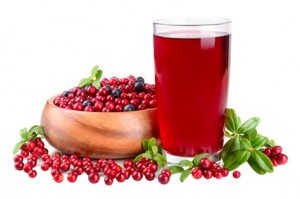 jugo de arandanos para la salud de las vias urinarias