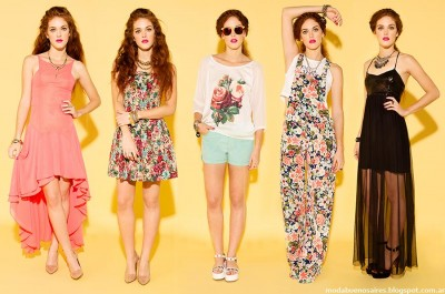 Sans Doute moda verano 2015 looks