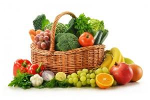 consume frutas y verduras para aliviar las hemorroides