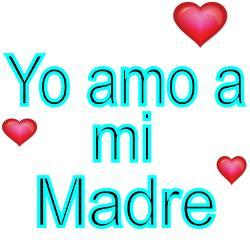 yo_amo_a_mi_madre_square_sticker_3_x_3